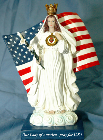 Magnalite Catholic Rosary For The United States Of America